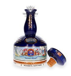 Pusser's Rum British Navy Nelson's Blood Decanter / 42% / 1,0l