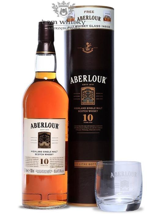 Aberlour 10-letni (With Free Aberlour Tasting Glass)/ 40% / 1,0l