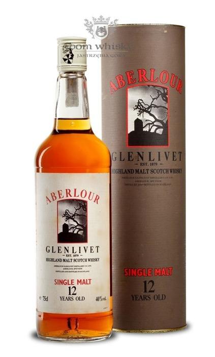 Aberlour Glenlivet 12-letni / 40% / 0,75l