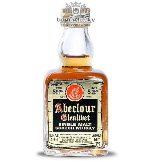 Aberlour-Glenlivet Pure Malt 8-letni / 50%/ 4·7cl (47 ml)
