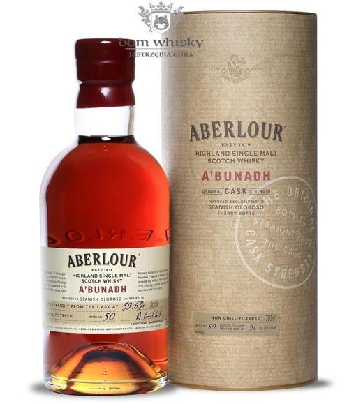 Aberlour a'bunadh Batch # 50 / 59,6% / 0,7l