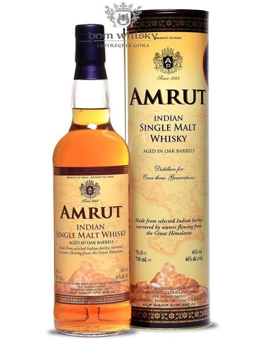 Amrut Malt (Indie) / 46% / 0,7l