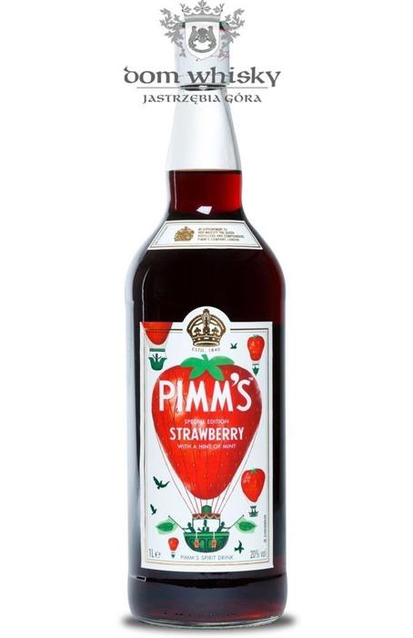Aperitif Pimm's Strawberry & Mint / 20% / 1,0l