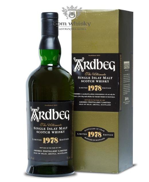 Ardbeg 1978 (Bottled 1997) / 43% / 0,7l