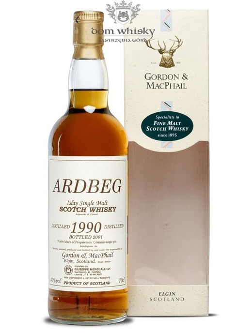 Ardbeg (D.1990, B.2001) Gordon & MacPhail / 40% / 0,7l