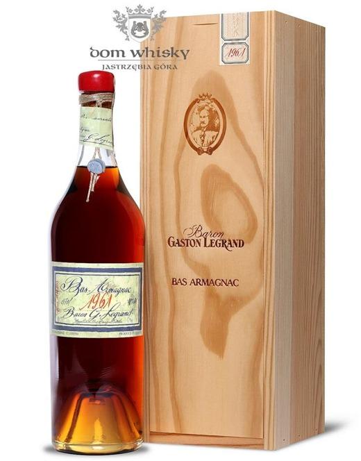 Armagnac Baron Gaston Legrand 1961 / 40% / 0,7l