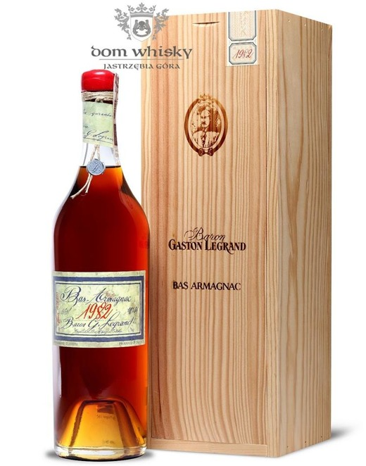 Armagnac Baron Gaston Legrand 1982 / 40% / 0,7l