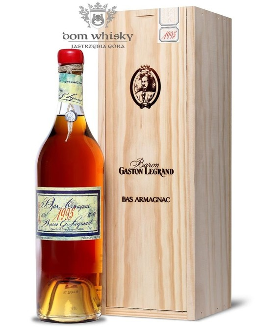 Armagnac Baron Gaston Legrand 1995 / 40% / 0,7l