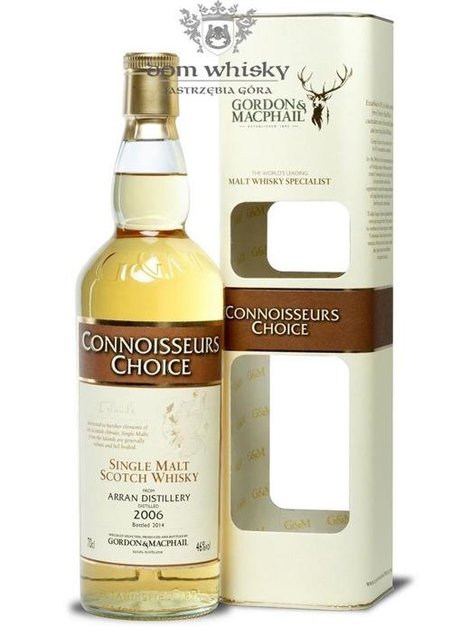 Arran 2006 (Bottled 2014) Connoisseurs Choice / 46% /0,7l