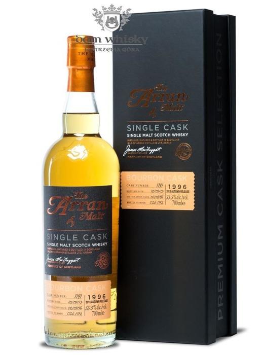 Arran Premium Cask Selection, Bourbon (D1996, B2013)53,5% /0,7l