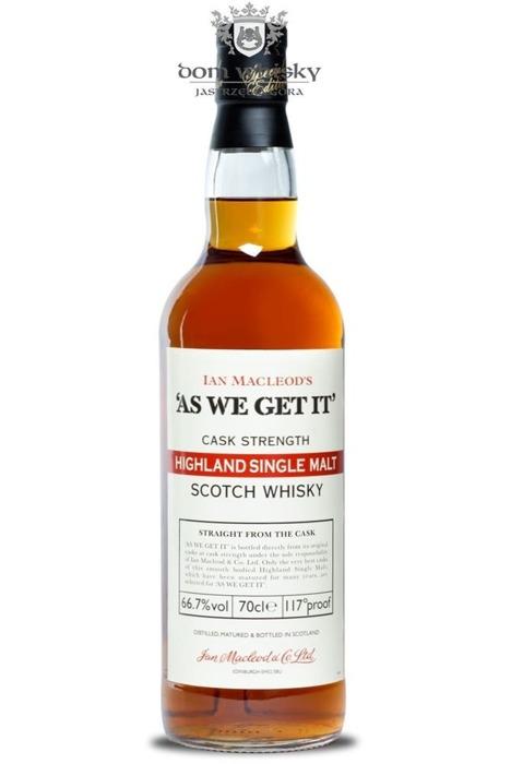 As We Get It (Highland), Ian Macleod & Co. Ltd / 66,7% / 0,7l