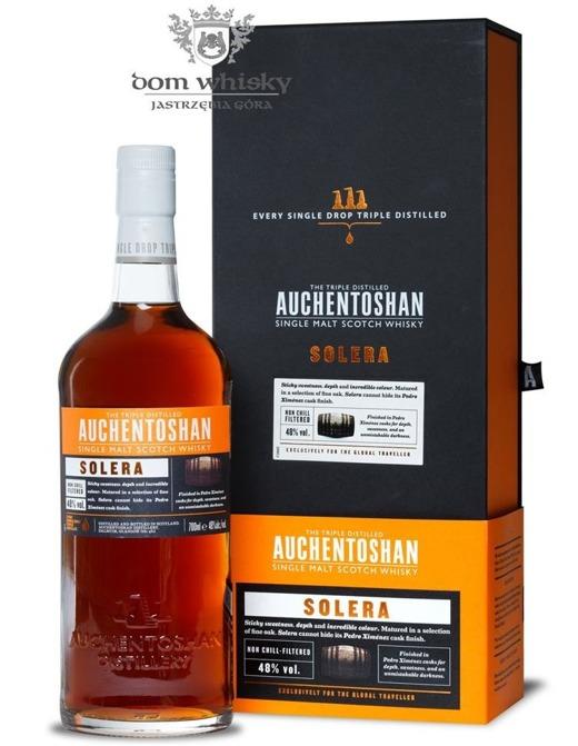 Auchentoshan Solera, Finished in Pedro Ximénez Cask / 48% / 0,7l
