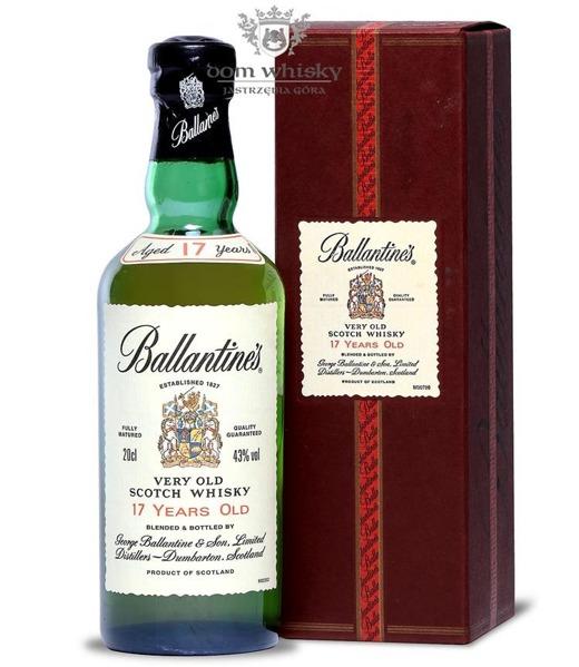 Ballantine's 17-letni / 43% / 0,2l
