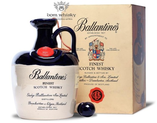 Ballantine's Finest Decanter / 40% / 0,75l