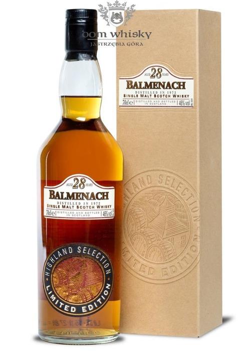 Balmenach 1972, 28-letni, Highland Selection / 46% / 0,7l