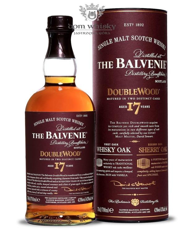 Balvenie Double Wood, 17-letni / 43% / 0,7l