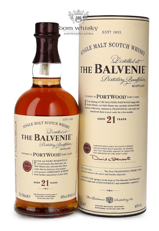 Balvenie Port Wood, 21-letni / 40% / 0,7l