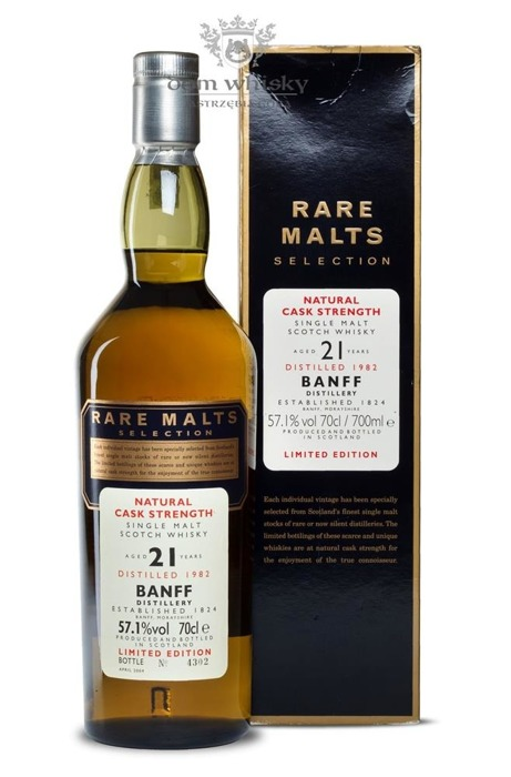 Banff 21-letni (D.1982, B.2004) Rare Malts / 57,1% / 0,7l