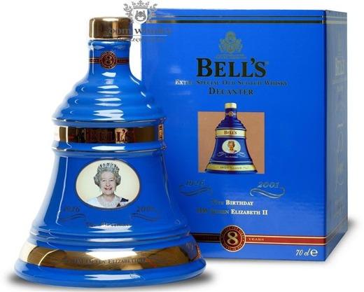 Bell's 8-letni Celebrating 75 Years Queen Elizabeth II /40%/0,7l