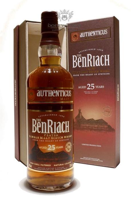 BenRiach Authenticus, 25-letni / 46% / 0,7l