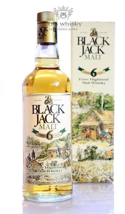 Black Jack Pure Malt, 6-letni / 40% / 0,75l