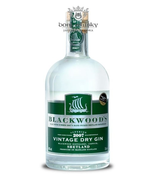 Blackwoods Vintage Dry Gin Summer 2007 (Szkocja) / 40% / 0,7l