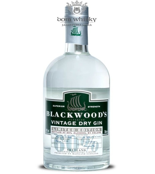 Blackwoods Vintage Dry Gin Summer 2007 (Szkocja) / 60% / 0,7l