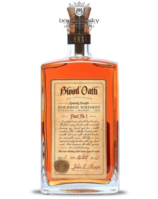Blood Oath Pact No. 1  Bourbon Whiskey / 49,3% / 0,75l