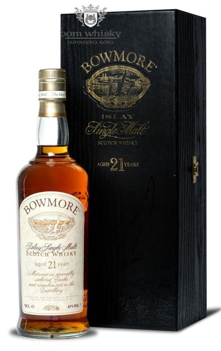 Bowmore 21-letni / 43% / 0,7l