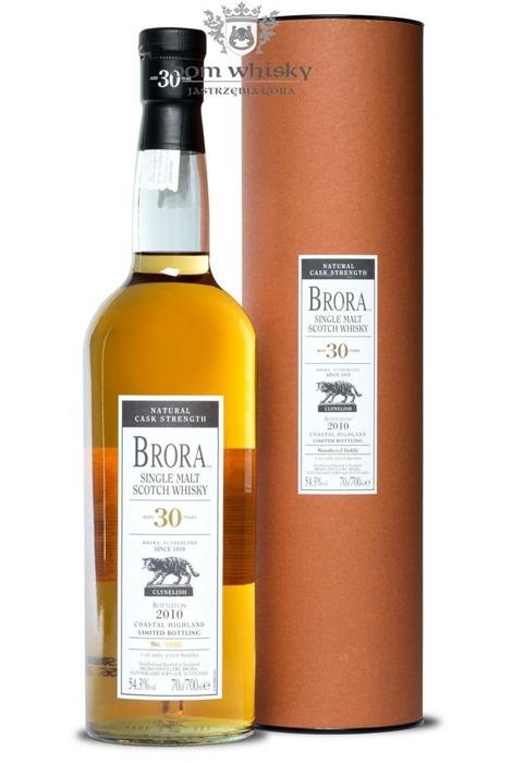 Brora 30-letni ( D.1980 B.2010) 9th Release / 54,3% / 0,7l