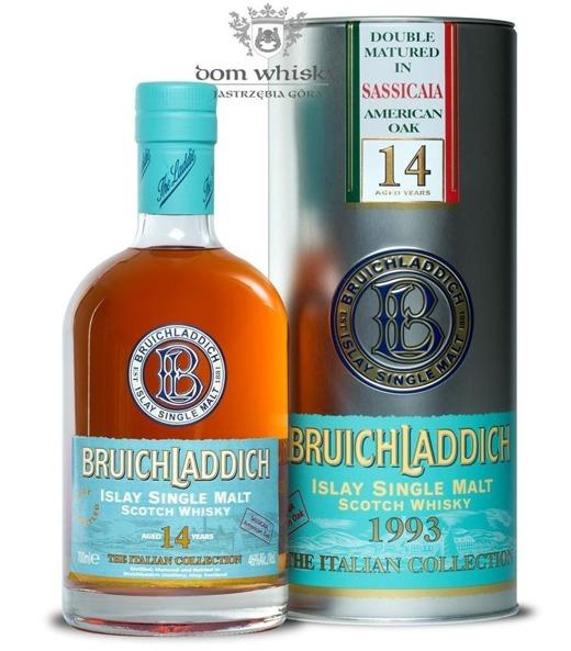 Bruichladdich 14 letni 1993 Sassicaia American Oak/ It /46%/0,7l