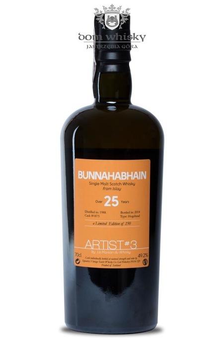 Bunnahabhain 25-letni (D.1988, B.2014) Artist # 3 / 49,2% / 0,7l