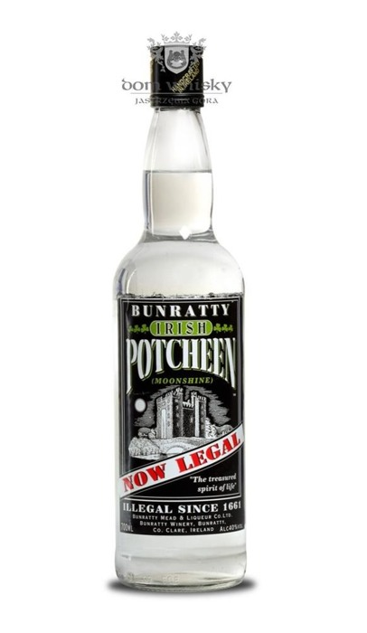 Bunratty Irish Potcheen / 40% / 0,7l