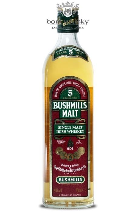 Bushmills 5 letni / Brak opakowania / 40% / 0,7l