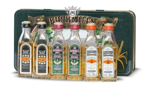 Bushmills Miniatur Collection / Zestaw 6 x 0,05l