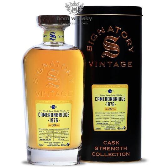 Cameronbridge 39-letni(D.1976B.2015) Signatory Vintage 49,8%/0,7