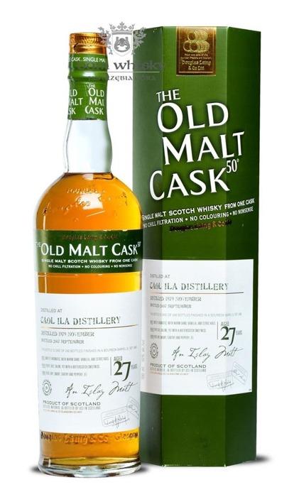 Caol Ila 27-letnia (D.1979, B.2007) Old Malt Cask / 50% / 0,7l