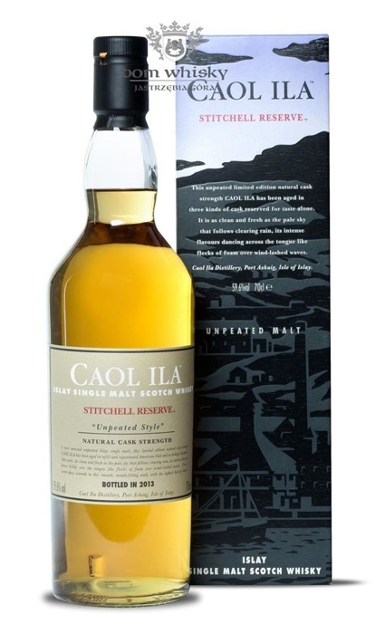 Caol Ila Stitchell Reserve Unpeated Style(B.2013)/59,6%/0,7l