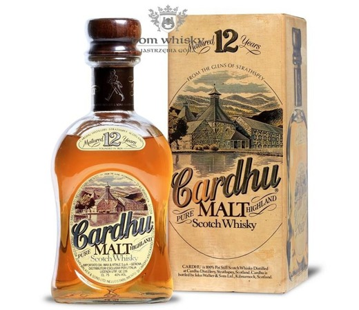 Cardhu 12-letni (Bottled by John Walker & Sons) /40%/0,75l