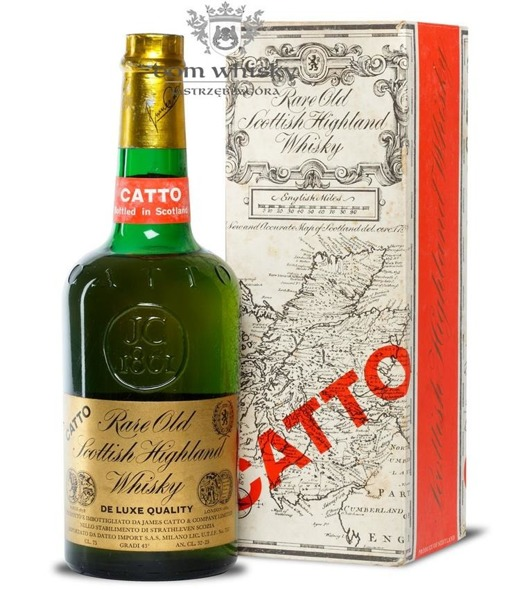 Catto Blended Scotch Whisky / 43% / 0,75l
