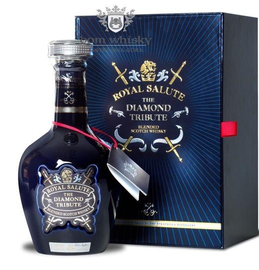 Chivas Royal Salute 21 letni Diamond Tribute / 40% / 0,7l