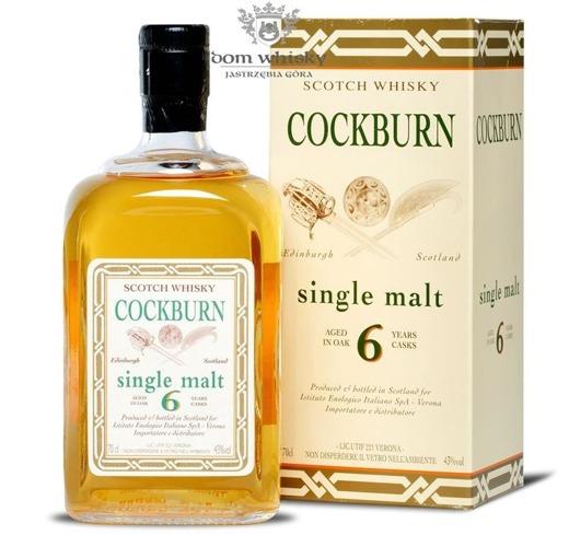Cockburn 6 letni Single Malt Oak Cask / 43% / 0,7l