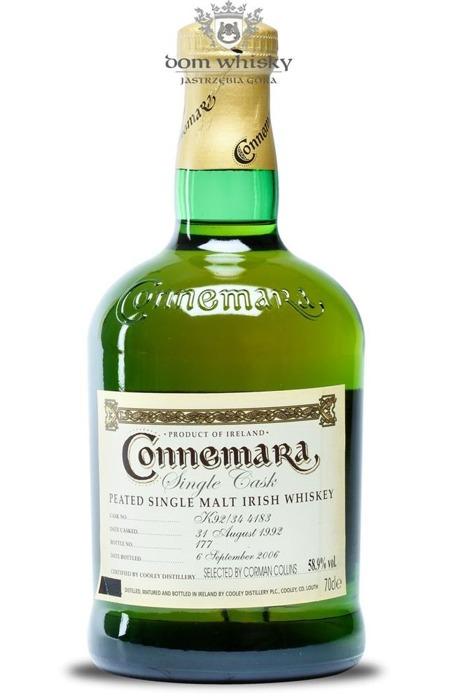 Connemara Peated Single Cask 1992 / 58,9% / 0,7l