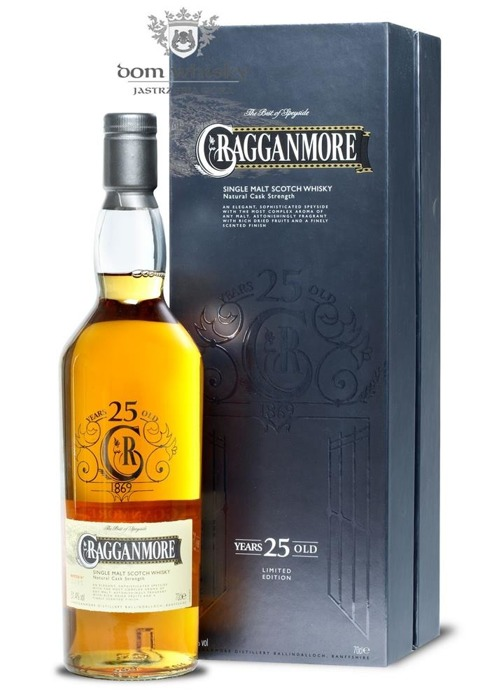 Cragganmore 25-letni (D.1988, B.2014) / 51,4% / 0,7l
