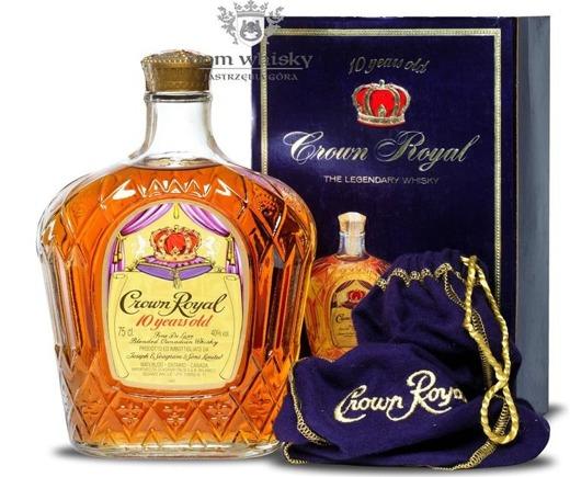 Crown Royal 10-letni 1977  / 40% / 0,75l