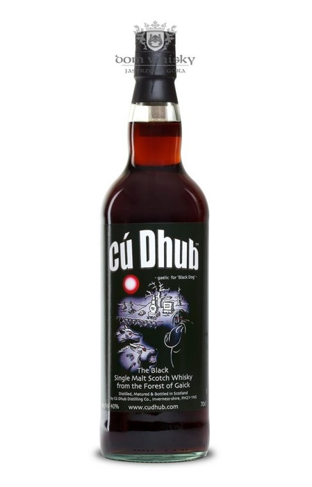 Cú Dhub, The Black Single Malt / 40% / 0,7l