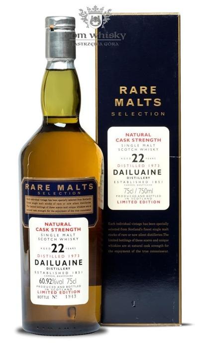 Dailuaine 22-letni (D.1973, B.1996) Rare Malts / 60,92% / 0,75l