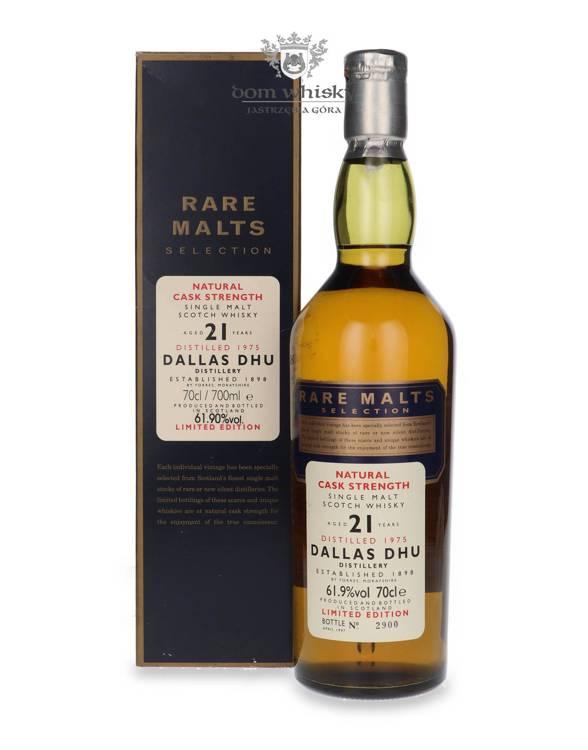 Dallas Dhu 21-letni (D.1975, B.1997) Rare Malts / 61,9% /0,7l