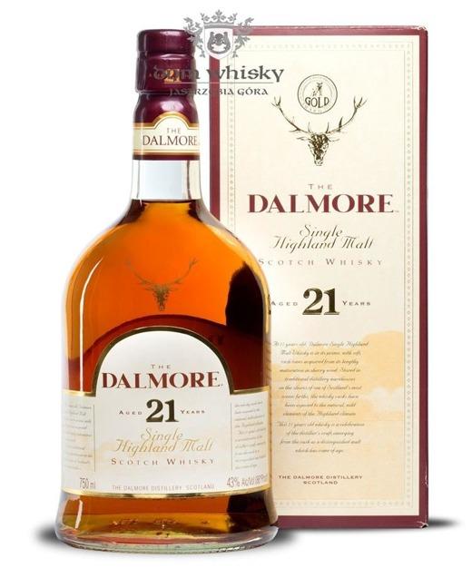 Dalmore 21-letni / 43% / 0,75l