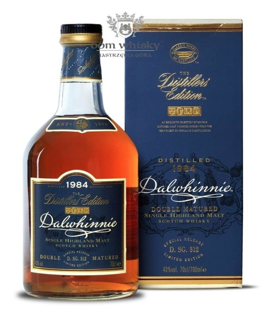 Dalwhinnie 1984 (Bottled 2000) Distillers Edition / 43% / 0,7l